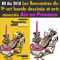 Festival BD<br>Aix en Provence<br>2018