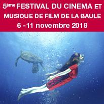 Festival<br>du Cinéma<br>et Musique<br>de Film<br>de La Baule