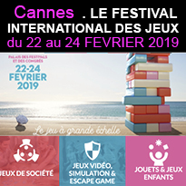 Cannes<br>Festival<br>International<br>des Jeux