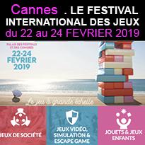 Cannes<br>Festival<br>International<br>des Jeux