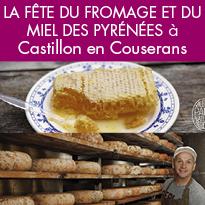 Le 11 aout 2019<br>c'est la Fête<br>du fromage<br>et du miel