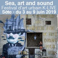 Sea, art<br>and sound<br>Sète<br>en fête