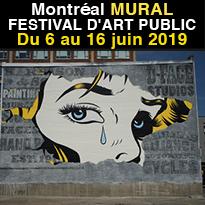 Du 6 au 16 juin<br>Festival MURAL<br>Montréal