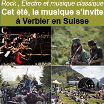 Verbier<br>la montagne<br>en musique<br>agenda