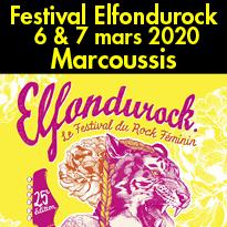 Marcoussis Festival Elfondurock  6 & 7 mars 2020