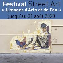 Festival Street Art « Limoges d'Arts et de Feu »