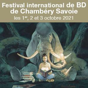 45ème festival international de bande-dessinée de Chambéry. les 1er, 2 et 3 octobre 2021
