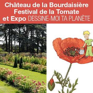Exposition et festival au château de la Bourdaisière