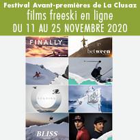 Festival Avant-premières de La Clusaz - films freeski en ligne
