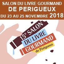 Périgueux<br>Le salon<br>du livre<br>Gourmand 2018