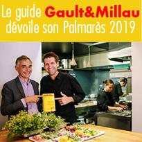 Le guide<br>Gault&Millau<br>dévoile<br>son Palmarès 2019