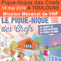 Pique-Nique<br>des Chefs<br>18 mai 2019<br>Toulouse