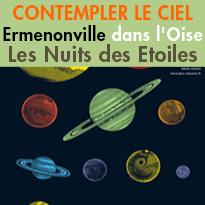 Nuits des étoiles<br>Contempler le ciel<br>A Ermenonville