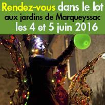 «Rendez-vous<br>aux jardins»<br>les 4 et 5 juin 2016<br>à Marqueyssac (24)