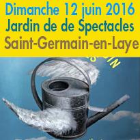 Jardin de Spectacles<br>3e édition<br>12 juin 2016<br>Saint-Germain-en-Laye (78)