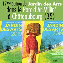 17ème édition<br>de Jardin des Arts<br>à Châteaubourg (35)