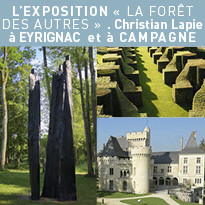 Christian Lapie  à Eyrignac et à Campagne