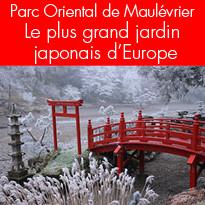 A voir ! Parc Oriental de Maulévrier en Anjou