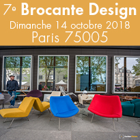 7eBrocante<br>Design<br>le Dimanche<br>14 octobre2018
