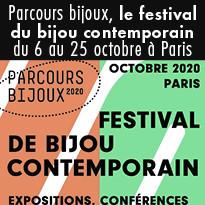 Du 6 au 25 octobre à Paris festival du bijou contemporain