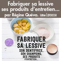 Fabriquer sa lessive ses produits d'entretien... Edition Larousse
