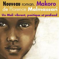 Nouveau<br>Roman<br>Makoro<br>de Florence Malmassari
