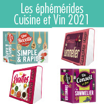Les éphémérides magnet Cuisine et Vin 2021