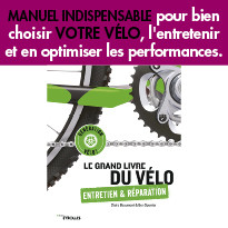 Le Grand livre du vélo de Claire Beaumont  & Ben Spurrier Editions Eyrolles