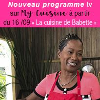 La cuisine<br>de Babette<br>le 16/09<br>sur My Cuisine