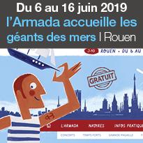 Rouen<br>Armada 2019<br>du 6 au 16 juin 2019