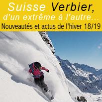 Station<br>Verbier<br>Nouveautés<br>2018/2019