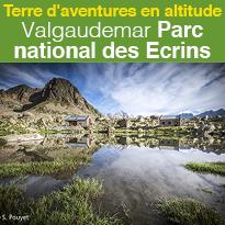 Les Refuges<br>en Valgaudemar<br>Parc national<br>des Ecrins