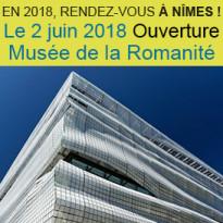 Nîmes<br>Ouverture <br>du nouveau Musée<br>de la Romanité