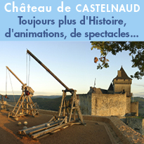 Programme<br>été 2018<br>château<br>de Castelnaud