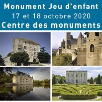 Monument Jeu d'enfant - Samedi 17 et dimanche 18 octobre 2020 - Centre des monuments nationaux
