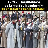 Sur les pas de Napoléon Ier à Fontainebleau
