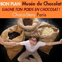 Une chasse<br>aux oeufs géante<br>Musée<br>du Chocolat