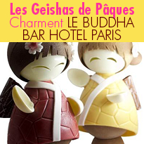 Une Geisha<br>de pâques<br>par Nicolas Jaulmes
