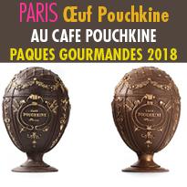 Pâques Gourmandes<br>au Cafe Pouchkine<br>Paris