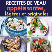 Recettes<br>Le Veau c'est bon<br>avec 3 fois rien !
