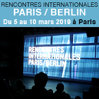 Rencontres<br>Internationales<br>Paris/Berlin