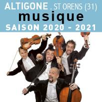 Musique SAISON 2020-2021 À ALTIGONE
