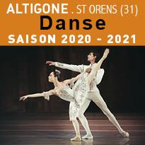 Danse Saison 2020-2021 à Altigone