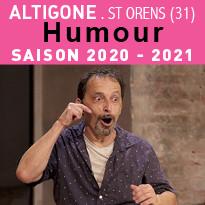 Humour SAISON 2020-2021 À ALTIGONE