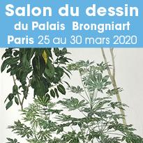 Salon du dessin à Paris du 25 au 30 mars 2020