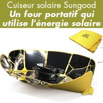 Nouveau<br>Cuiseur<br>solaire<br>Sungood