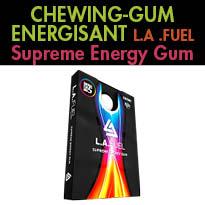 L.A.Fuel<br>le chewing-gum<br>antifatigue<br>etbooster d'énergie