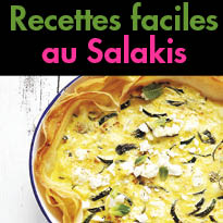 Recettes ensoleillées<br>au fromage à griller<br>Grillis de Salakis