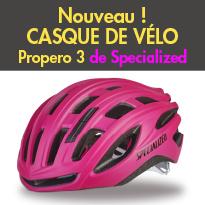 un nouveau casque<br>de vélo<br>pour femme<br>Propero 3