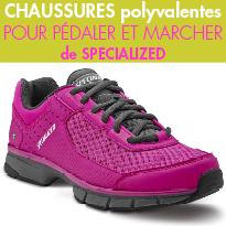 Chaussures polyvalentes<br>de la marque<br>Specialized